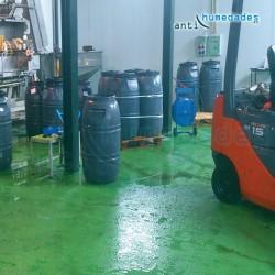 Pintura Epoxi apta para superficies de uso alimentario, industrias, comederos de animales ..