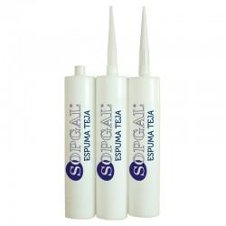 Espuma Teja Sopgal: poliuretano de alta adherencia para fijar las tejas