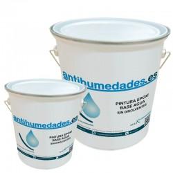 Resina bicomponente Epoxi Base Agua para tratamiento de suelos