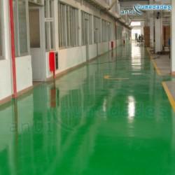 Pintura para suelos base agua con resina epoxi ecológica