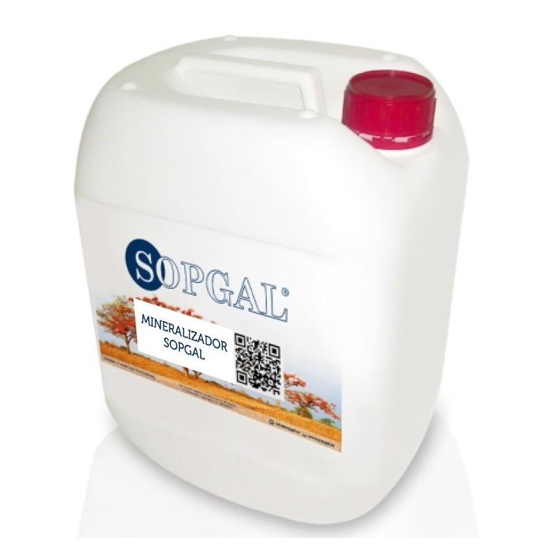 Mineralizador Sopgal para impermeabilización y consolidación de paredes