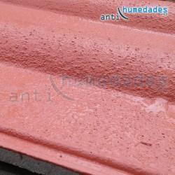 Aplicación de Caucho en tejados y placas para impermeabilización