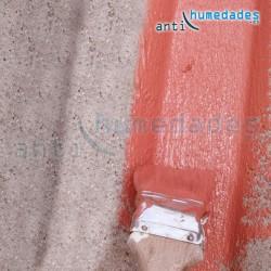 Caucho Orgánico pintura para terrazas y tejados