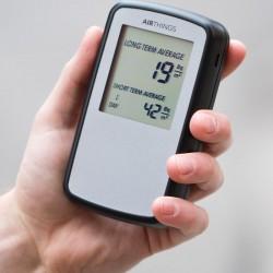 Medidor de gas radón