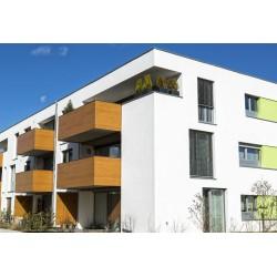 Edificio pintado con Bisophere Premium