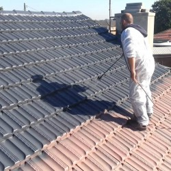 paint new roof color pizarra