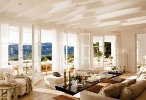 Una buena orientación ayuda a la eficiencia energética de la vivienda