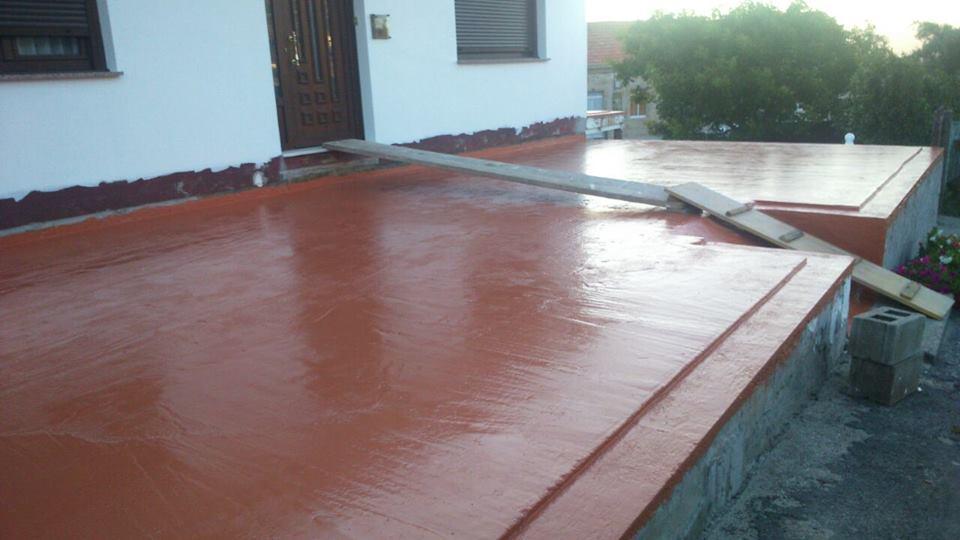 Impermeabilizante goma líquida de Sopgal para terrazas