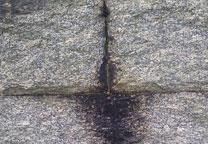 Problemas de filtraciones de agua desde el exterior