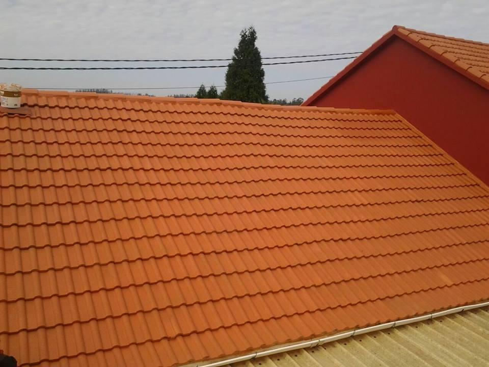 Paint new roof de idroless pintura impermeabilizante para - Impermeabilizacion de tejados ...