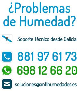 Contacta con Antihumedades