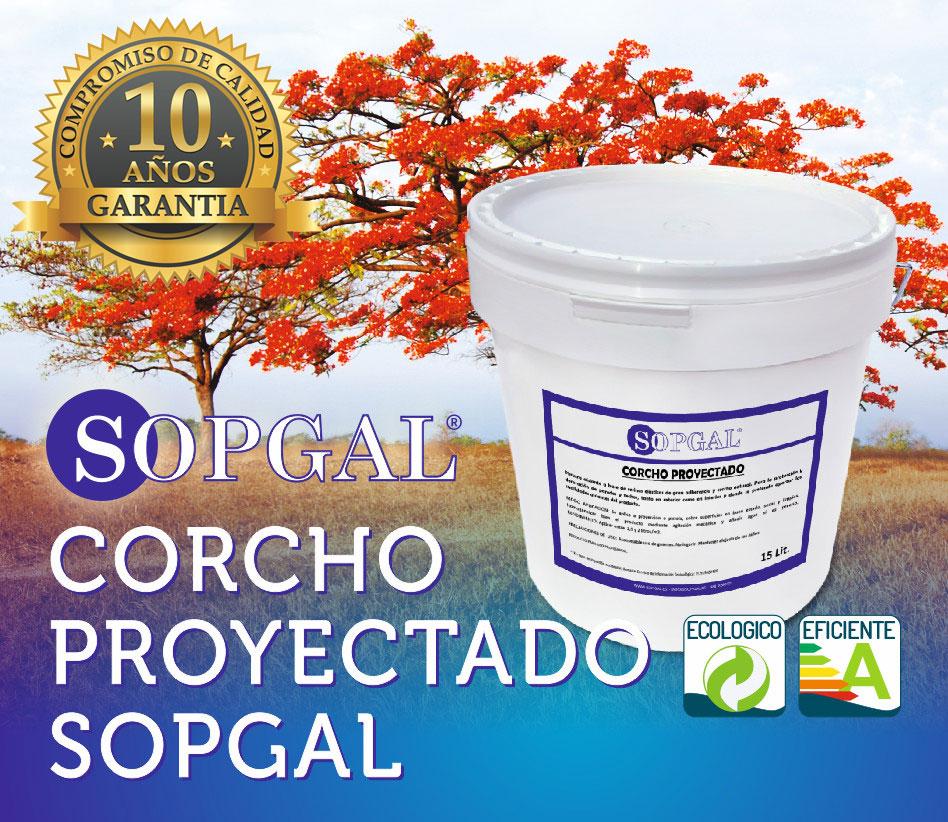 Pinutra Impermeabilizante y Aislante de Corcho Natural Sopgal