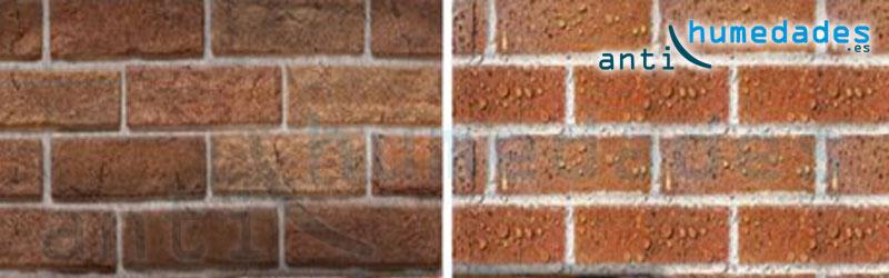 Hidrofugar y proteger las fachadas con repelentes de agua