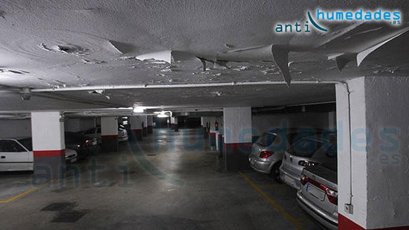 Las humedades son un problema en los garajes - Techos para garajes ...