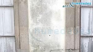 Fachada dañada por falta de mantenimiento e impermeabilización