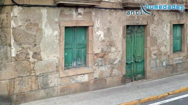 Daños estructurales en fachadas