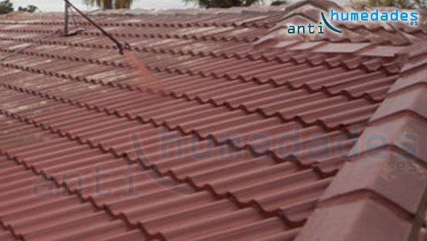 Pintado e impermeabilizado de tejado