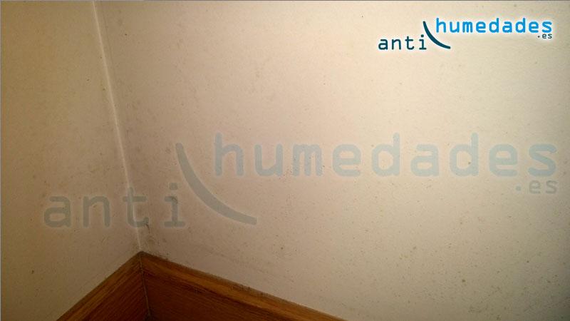 humedades por condensación en zonas bajas
