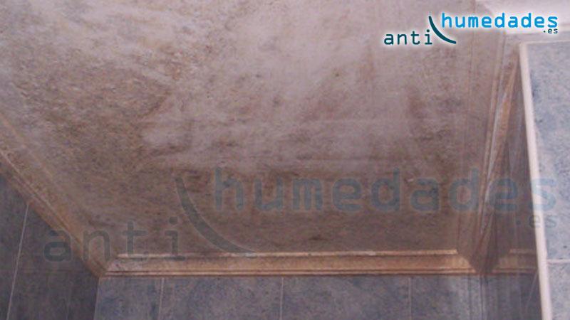 Humedad de condensación en baño