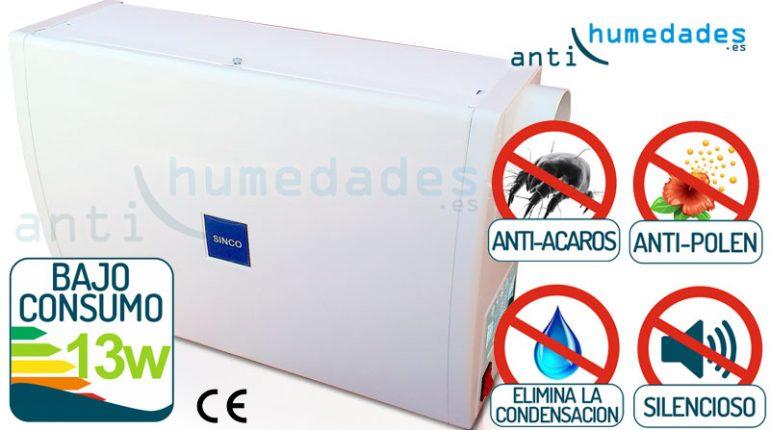 sistema anti condensaci n de ventilaci n forzada para