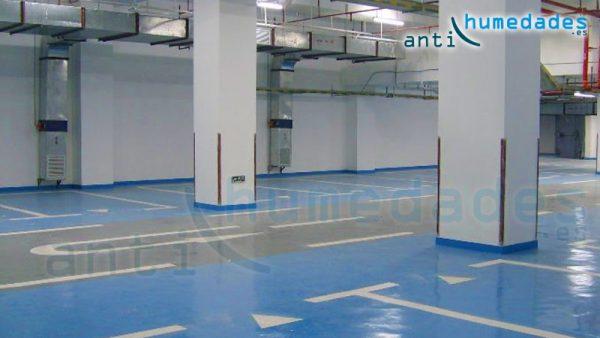 Impermeabilizacion pintura epoxi garaje - Pintura suelos garaje ...