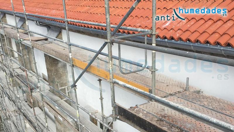 Impermeabilización de tejado con hidrófugos