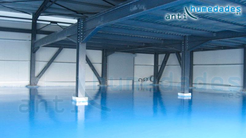 Autonivelenta Epoxi multicapa para suelos industriales