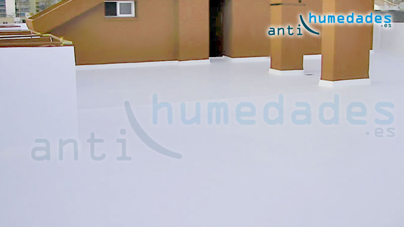 Pintura de caucho para aislamiento terrazas