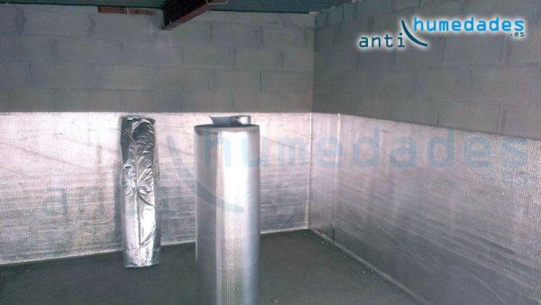 Aislamiento termico reflexivo de atico - Aislante humedad paredes ...