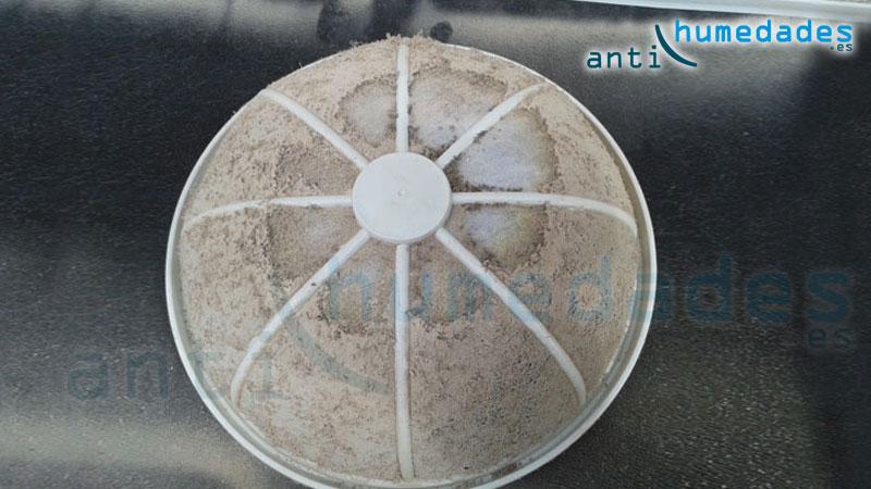 filtro sistema ventilación forzada