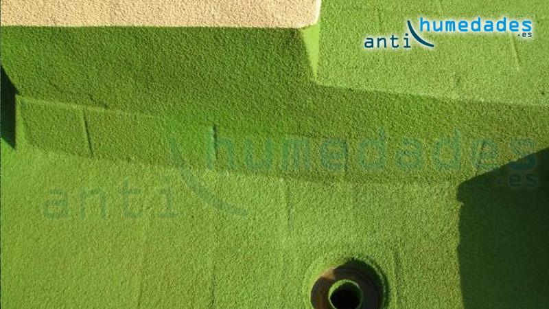 La pintura de corcho es un aislante natural que se puede usar en fachadas, terraza, balcones, ...