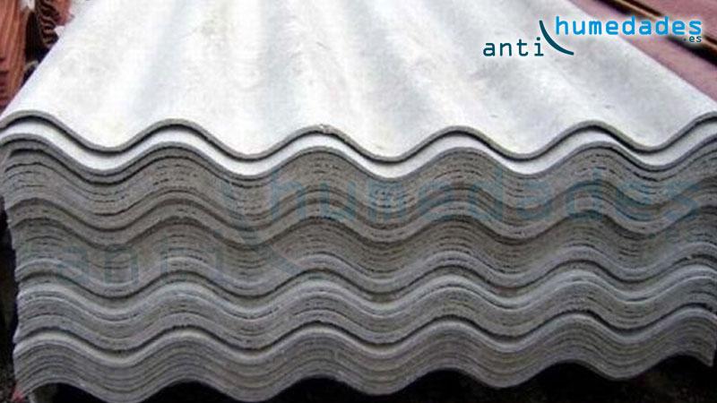 La uralita al no contener amianto es más permeable y pueden existir filtracioens