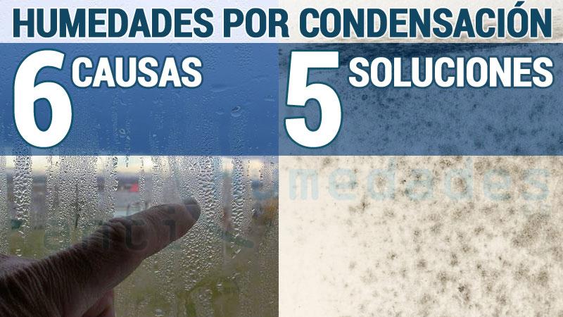 Humedades por Condensacion 6 causas y 5 soluciones