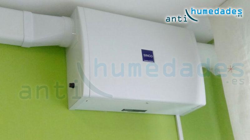Elimina el exceso de humedad en el ambiente con una renovación continua de aire limpio.