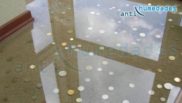 poliuretano PU Alifático incolora proporciona protección y brillo a los suelos con efecto 3D