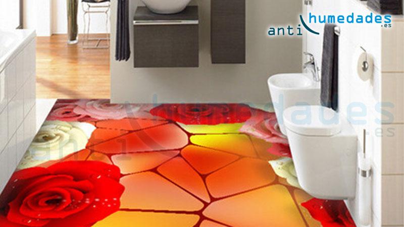 Suelos 3d en banos cocinas resinas incoloras for Suelos en 3d precios