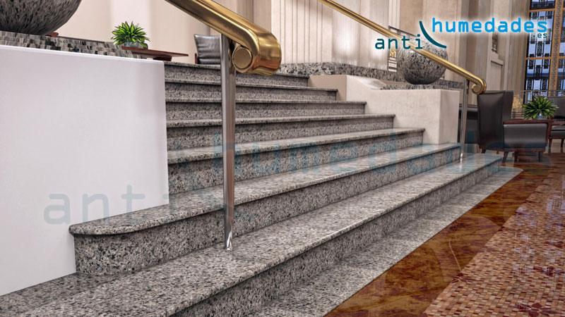 Problemas con superficies resbaladizas en tu hogar en for Escaleras de granito precios