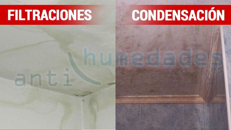Humedades filtracion vs condensacion - Humedad por condensacion en paredes ...