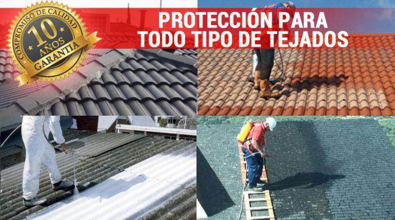 Productos hidrófugos e impermeabilizantes para tejados