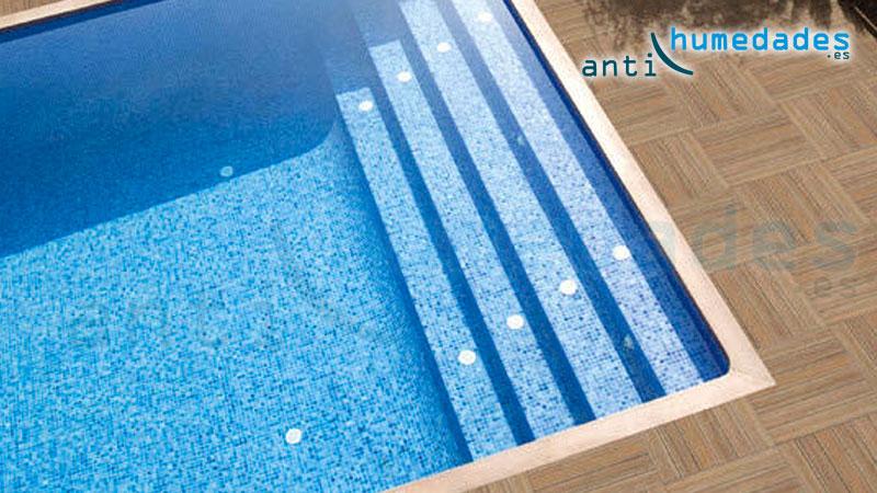La impermeabilización con productos adecuados para piscinas es muy importante