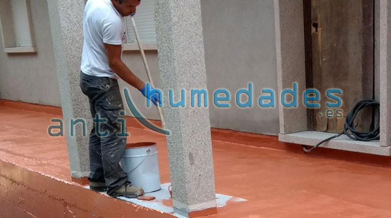 C mo impermeabilizar una terraza la mejor soluci n contra - Como impermeabilizar madera ...