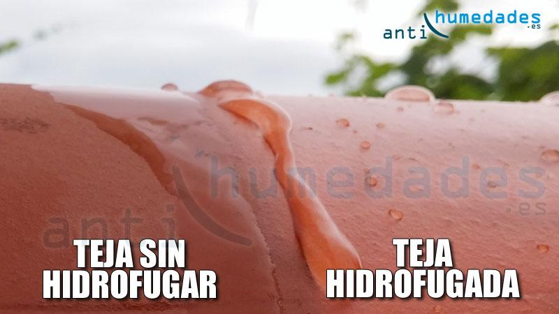 Hidrofugo para tejados incoloros y con color - Impermeabilizacion de tejados ...