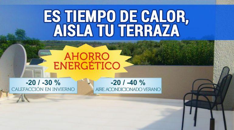 Verano calor aprende a aislar tu casa t rmicamente for Productos para impermeabilizar terrazas transitables