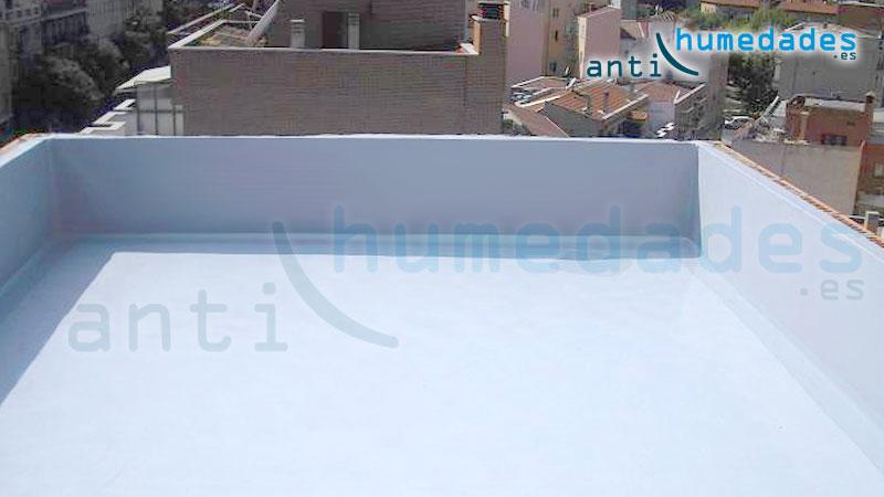 Aislamiento de Terrazas del frío y del calor con pintura térmica especial