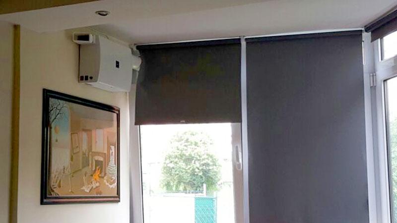 sistema de ventilacion forzada sin obras