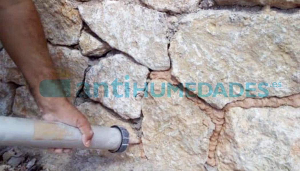 Mortero acrílico para rejuntados de piedra y fachadas