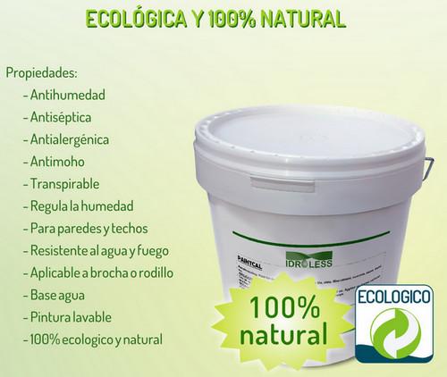 Pintura ecológica y 100% natural