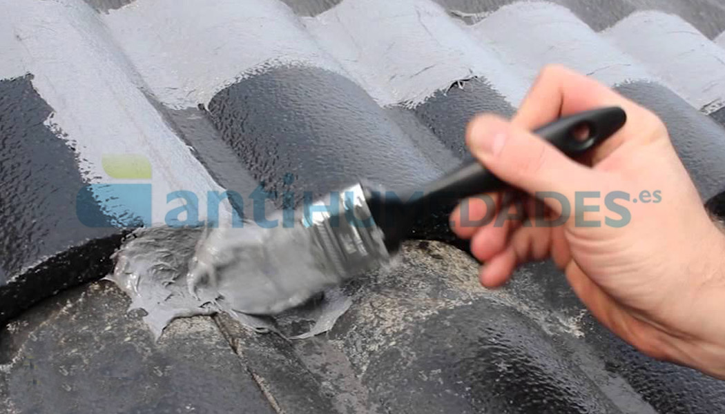 Pintura Impermeabilizante Todoterreno para todo tipo de superficies incluso si están húmedas