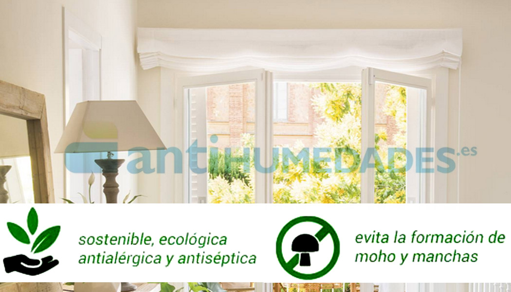 Pintura ecológica con base de cal Paintcal ideal para espacios interiores
