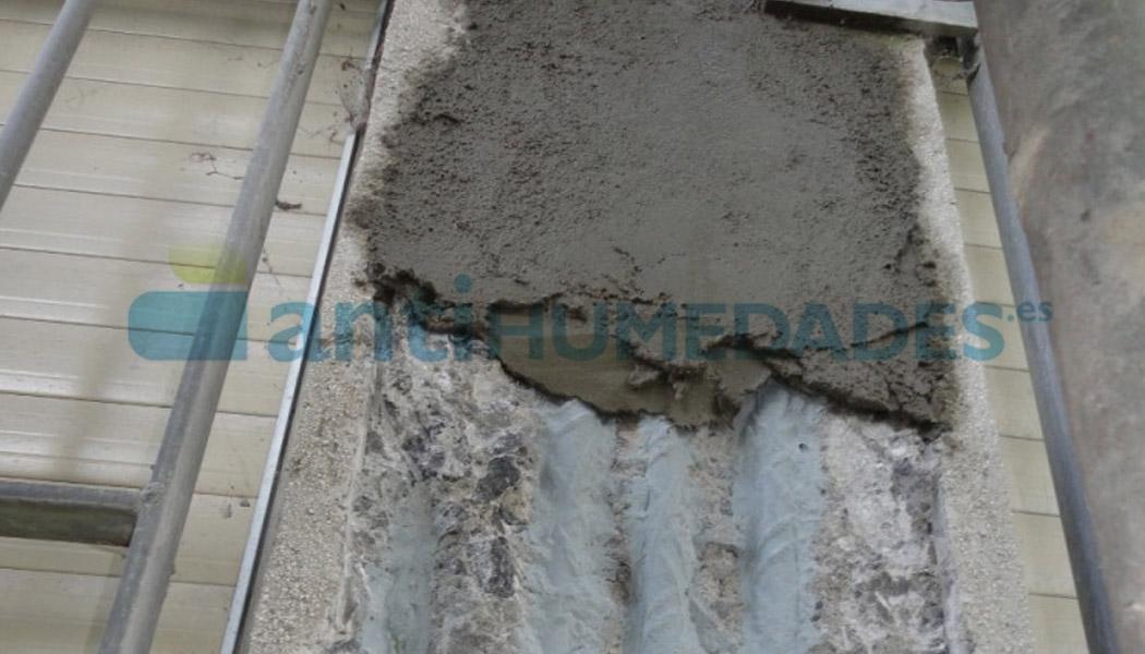 Resina Puente Unión de Sopgal para mejorar la adherencia de yesos y morteros a las superficies.